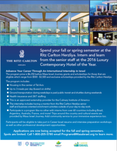 Ritz Carlton Brochure